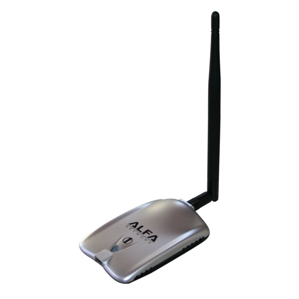 Alfa awus036h wifi usb network card 1000 mw und 5 dbi for Antenne wifi exterieur usb